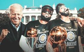 Nhà Trắng chuẩn bị chào đón nhà vô địch NBA sau 4 năm