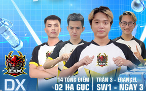 PUBG Mobile Việt Nam dẫn đầu giải SEA Championship