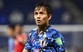 HLV Nhật Bản cân nhắc việc sử dụng tiền đạo chơi ở La Liga cho trận gặp ĐT Việt Nam