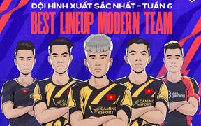 Đội hình xuất sắc nhất Tuần 6 ĐTDV mùa Đông 2021: V Gaming tạo nên sự khác biệt