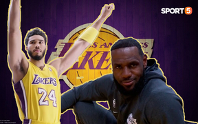 Jayson Tatum bất ngờ khoác áo Lakers, người hâm mộ mừng khấp khởi