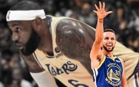 Stephen Curry cùng đồng đội đánh sập Los Angeles Lakers trong ngày khai màn NBA 2021/22