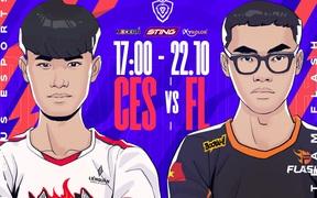Trực tiếp ĐTDV mùa Đông 2021 hôm nay 22/10: Team Flash đại chiến Cerberus Esports