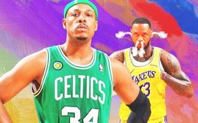 """Chứng kiến Lakers toàn thua, Paul Pierce lên tiếng """"đá xéo"""" LeBron James và kình địch một thời"""