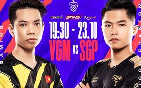 Trực tiếp ĐTDV mùa Đông 2021 hôm nay 23/10: VGM và SGP cạnh tranh ngôi đầu bảng