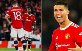 """Ronaldo mắng đồng đội: """"Các cậu có biết xấu hổ không?"""""""