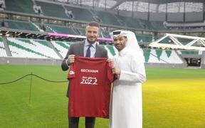 Nhận lời làm đại sứ World Cup 2022, Beckham bỏ túi khoản tiền lớn khủng khiếp