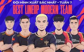 Đội hình xuất sắc nhất tuần 7 ĐTDV mùa Đông 2021: Team Flash comeback, Top 4 căng thẳng