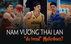 """""""Đu trend"""" Halloween, Nam vương Thái Lan tại VBA hóa trang thành siêu nhân Gao: """"Lụa đẹp vì người"""" là có thật!"""