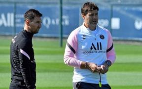 Sự xuất hiện của Messi vô tình tạo ra cơn đau đầu cho Pochettino