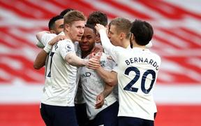 Manchester City xây chắc ngôi đầu với chiến thắng tối thiểu trước Arsenal