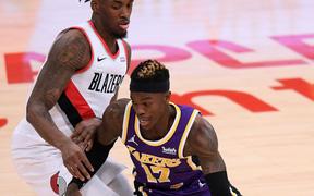 Dennis Schroder trở lại, Los Angeles Lakers ngắt chuỗi 4 trận thua liên tiếp