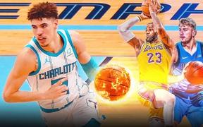 Sao trẻ nhà Ball sánh vai cùng LeBron James và Luka Doncic trong một kỷ lục tại NBA