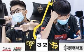 """Vòng 4 ĐTDV mùa Xuân 2021: Á quân Team Flash lại gục ngã, lời thừa nhận cho """"nhà vua"""" SGP"""