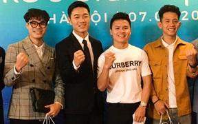Xuân Trường mở trung tâm phục hồi chấn thương, Quang Hải, Văn Toàn bảnh bao đến chúc mừng