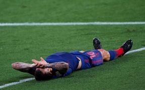 Atletico Madrid tiếp tục mất điểm dù trở lại ngôi đầu bảng