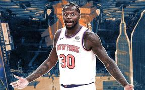 """Bật chế độ """"hack game"""", Julius Randle lập kỷ lục trong ngày New York Knicks đả bại Dallas Mavericks"""