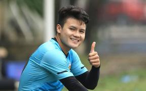 """Quang Hải: """"Cách biệt 9 điểm với HAGL không lớn, Hà Nội FC từng bị bỏ xa mười mấy điểm"""""""