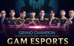 Vui mừng sau chức vô địch VCS mùa Xuân 2021, GAM Esports quyết tâm tiến xa tại MSI 2021