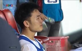 Xuân Trường bật khóc sau chiến thắng nghẹt thở của HAGL trước Hà Nội FC
