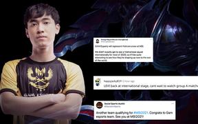 Không chỉ Việt Nam, cộng đồng quốc tế cũng phấn khích khi thấy GAM vô địch VCS