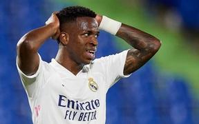 """May mắn hòa Getafe, Real Madrid tự """"bắn vào chân mình"""" trong cuộc đua vô địch La Liga"""