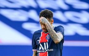 Neymar ăn thẻ đỏ, PSG thua đối thủ trực tiếp cạnh tranh ngôi vô địch
