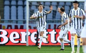 Ronaldo ghi bàn giúp Juventus cầm hòa thành công đối thủ xếp hạng 17
