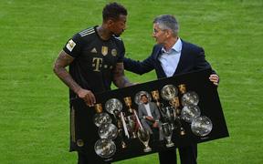 Bayern tri ân HLV và 3 công thần trong ngày cuối cùng của mùa giải