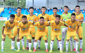 Hòa Bình FC chia điểm với Hải Nam Vĩnh Yên Vĩnh Phúc trong ngày khai mạc giải hạng Nhì 2021