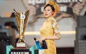 """MC Minh Anh của Free Fire """"biến hình"""" thành thục nữ, khán giả đứng ngồi không yên vì quá xinh đẹp!"""