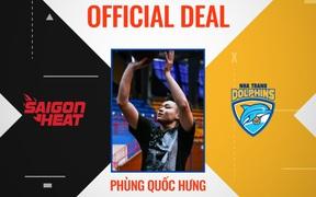 Cầu thủ trẻ gốc Bắc Melvin Phùng chuyển sang thi đấu cho Nha Trang Dolphins tại VBA 2021
