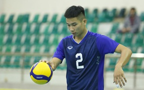 Tuyển bóng chuyền nam hội quân, quyết dành HCV SEA Games 2021