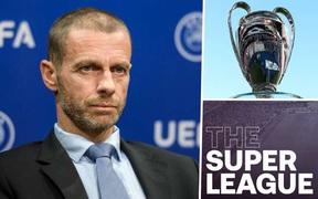 UEFA chính thức ban hành án phạt với 9 đội sáng lập Super League