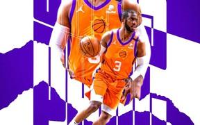 """Đánh mất khái niệm """"turn over"""", Chris Paul dẫn dắt Phoenix Suns tới thắng lợi"""