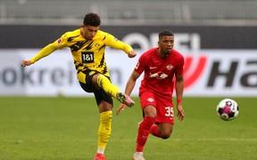"""Đánh bại Leipzig 3-2, Borussia Dortmund giúp Bayern Munich """"đóng hòm"""" Bundesliga"""