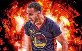 """Stephen Curry """"đốt cháy"""" rổ OKC, hạ quyết tâm đối đầu LeBron James"""