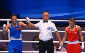 Sau Văn Đương, boxing Việt Nam tiếp tục có một cái tên giành vé tham dự Olympic