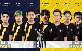 Ngày 1 Vòng thăng hạng - ĐTDV mùa Đông 2021: B2F và HEAVY thi đấu khác biệt