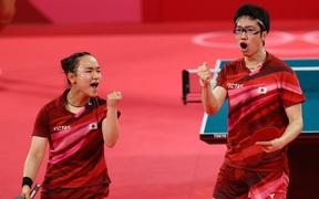 Ngược dòng kịch tính, Nhật Bản có huy chương vàng bóng bàn đầu tiên tại Olympic Tokyo 2020