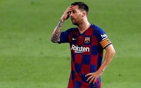 Chuyển nhượng 2/8: Barca chưa cho phép Messi tập luyện