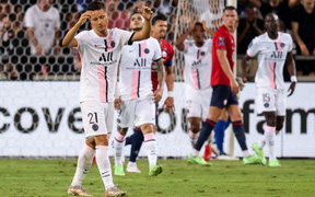 PSG thất thủ trước Lille ở trận tranh Siêu cúp Pháp