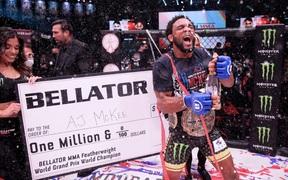 Chiến thắng trước Pitbull Freire, AJ McKee đã sẵn sàng để trở thành số 1 thế giới