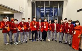 Olympic Tokyo 2020: Đoàn thể thao Việt Nam về nước ngày mai