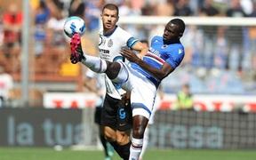 Công làm thủ phá, Inter Milan bất lực để Sampdoria cầm chân với tỷ số 2-2 sau 90 phút