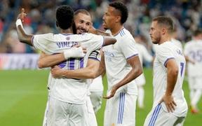 Real Madrid lên đỉnh BXH La Liga trong ngày trở lại Bernabeu sau 18 tháng