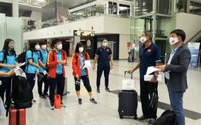 Đội tuyển nữ Việt Nam lên đường sang Tajikistan
