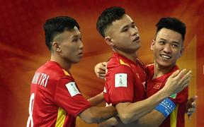 Cập nhật bảng xếp hạng đội hạng ba VCK futsal World Cup 2021: Việt Nam cần phải có điểm trước CH Czech