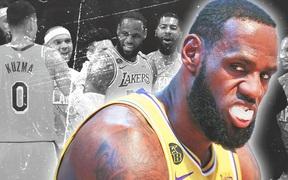"""LeBron James nhận """"cú đâm"""" từ đồng đội cũ tại Los Angeles Lakers"""