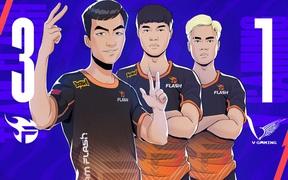 Team Flash hạ V Gaming: Khác biệt tới từ kinh nghiệm và bản lĩnh thi đấu